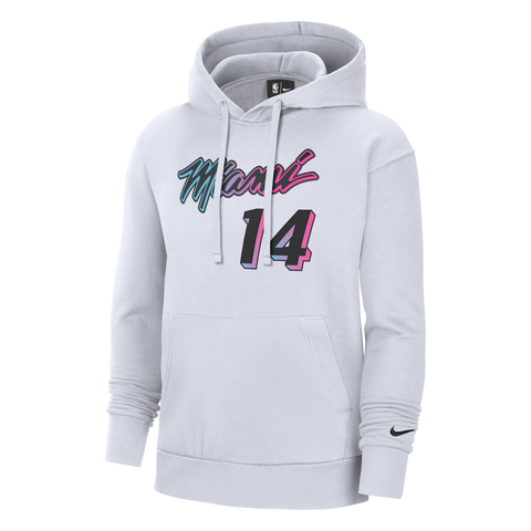 Tyler Herro Nike ViceVersa Name and Number Youth Hoodie