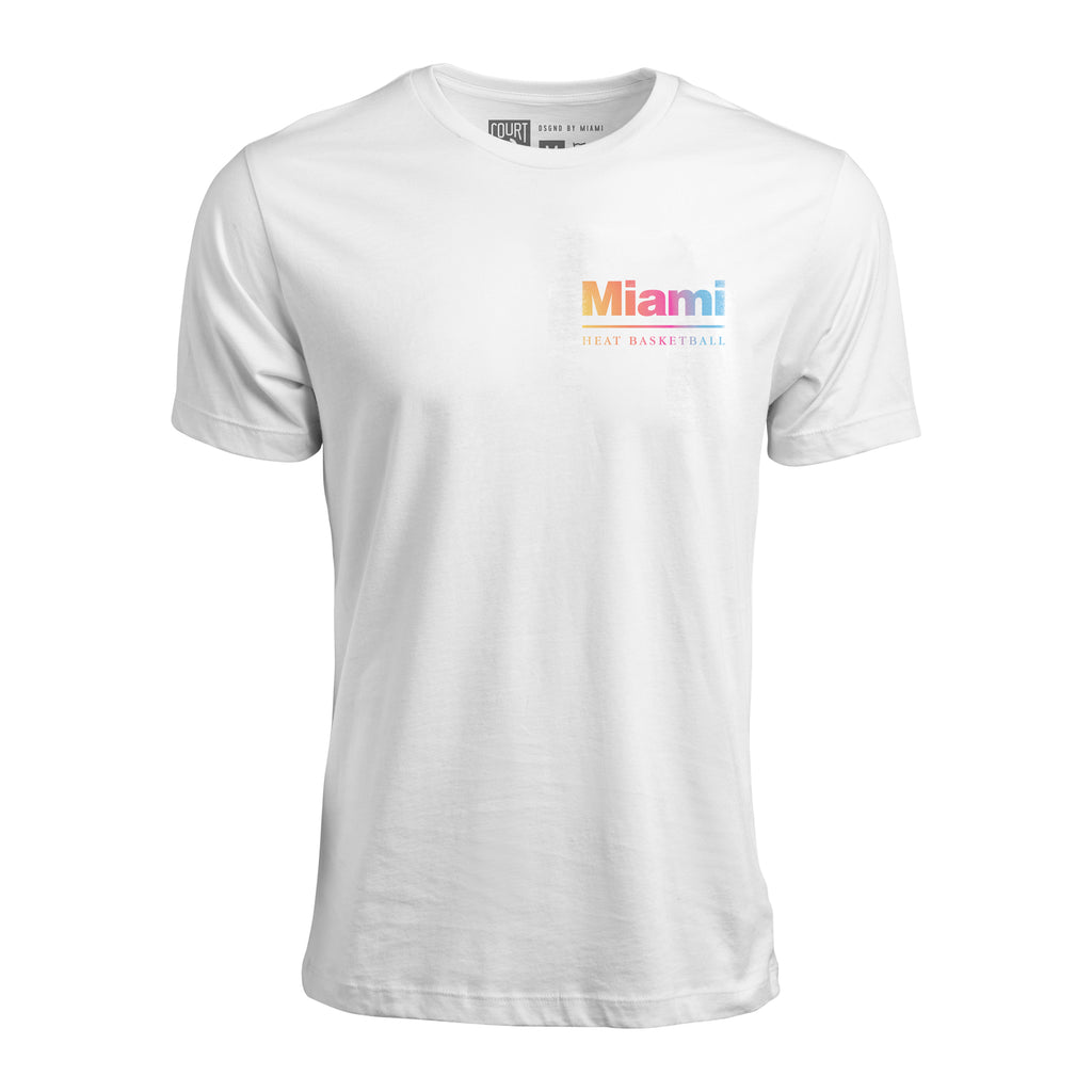Court Culture Miami HEAT VHS Unisex Tee - featured image