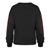 '47 Brand Miami HEAT Ladies Long Sleeve Marlow Bells Tee - 2