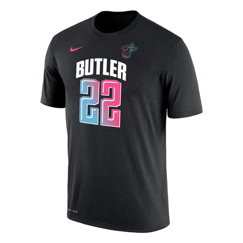 Nike ViceVersa Jimmy Butler Name & Number Black Tee