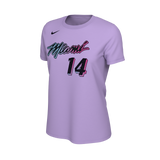 Tyler Herro Nike ViceVersa  Name & Number Ladies Tee - 1