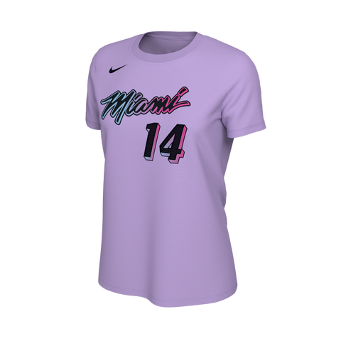 Tyler Herro Nike ViceVersa  Name & Number Ladies Tee