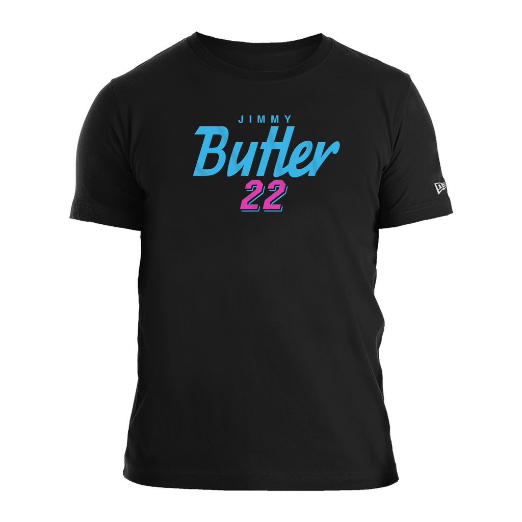 New ERA Jimmy Butler Vice Name & Number Tee - featured image