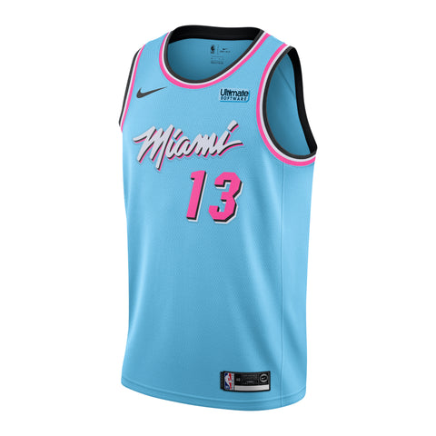 Bam Adebayo Nike Miami HEAT ViceWave Youth Swingman Jersey