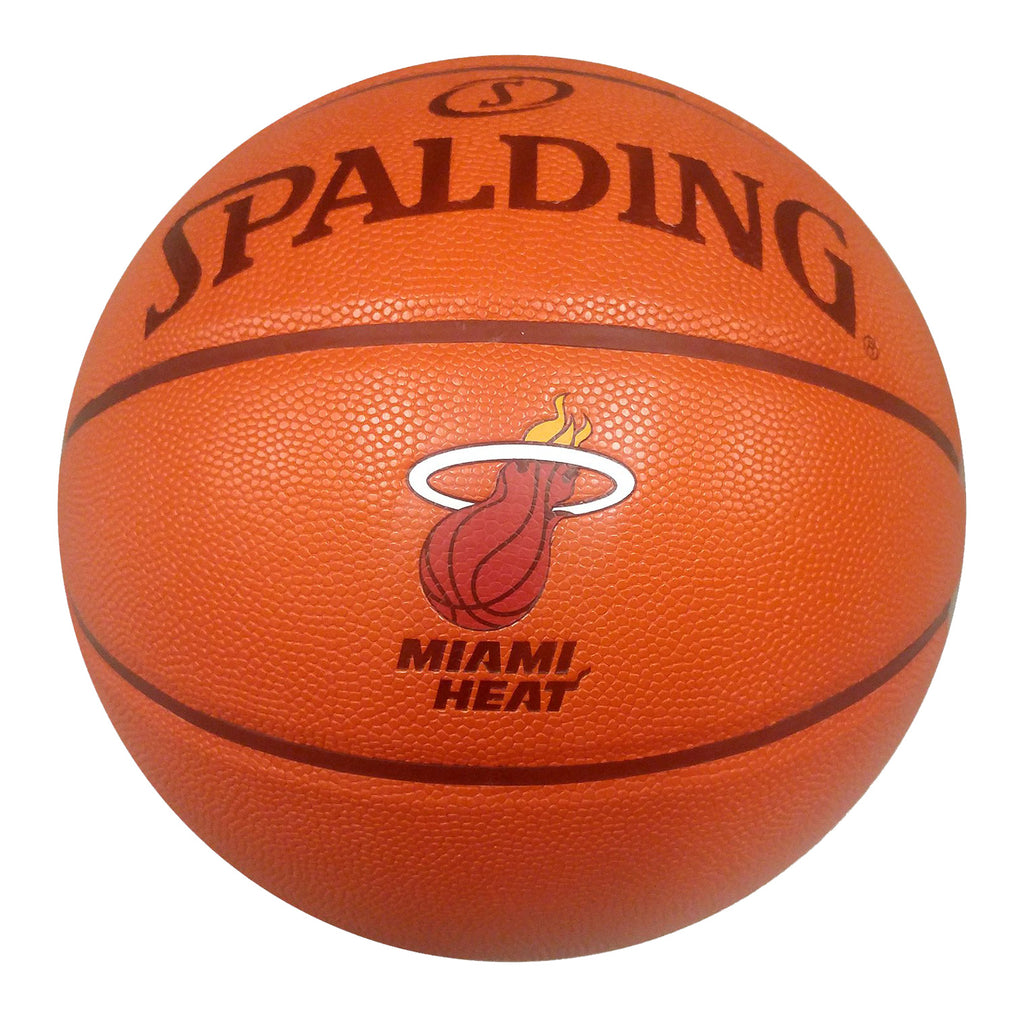 Spalding Miami HEAT Composite Basketball - featured image