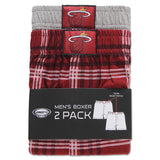 Concepts Sports Miami HEAT 2 Pack Boxer Set - 2