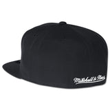 Mitchell & Ness Miami Heat Black and White Fitted Cap - 2