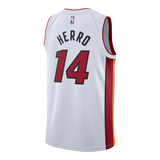 Tyler Herro Nike Association White Swingman Jersey - 2