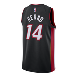 Tyler Herro Nike Icon Black Swingman Jersey - 2