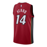 Tyler Herro Nike Statement Red Swingman Jersey - 2