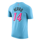 Tyler Herro Nike Miami HEAT ViceWave Name & Number Tee - 2