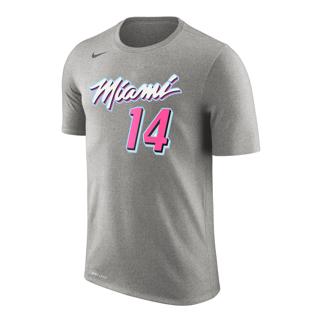 Tyler Herro Nike Miami HEAT ViceWave Variant Name & Number Tee - featured image