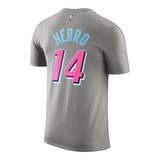 Tyler Herro Nike Miami HEAT ViceWave Variant Name & Number Tee - 2