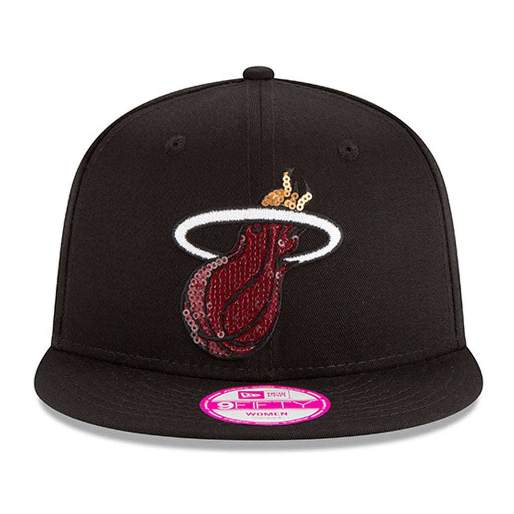New Era Miami HEAT Ladies Glimmer Mixer Snapback - featured image