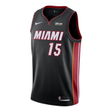 Daryl Macon Nike Miami HEAT Youth Icon Black Swingman Jersey - 1