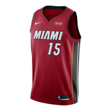 Daryl Macon Nike Miami HEAT Youth Statement Red Swingman Jersey - 1