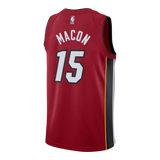 Daryl Macon Nike Miami HEAT Youth Statement Red Swingman Jersey - 2