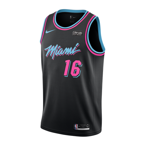 James Johnson Nike Miami HEAT Vice Nights Swingman Jersey