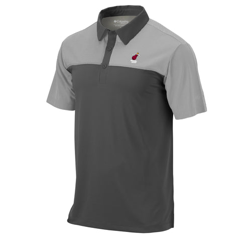 Columbia Miami HEAT Front Line Polo