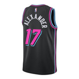 Kyle Alexander Nike Miami HEAT Vice Nights Swingman Jersey - 2