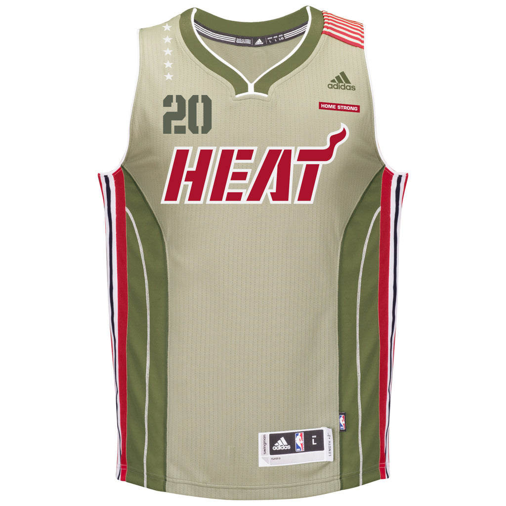 Justise Winslow Miami HEAT adidas Home Strong Swingman Jersey - featured image