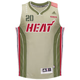 Justise Winslow Miami HEAT adidas Home Strong Swingman Jersey - 1