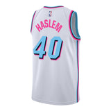 Udonis Haslem Nike Miami HEAT Vice Uniform City Edition Youth Swingman Jersey - 2