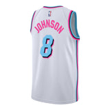 Tyler Johnson Nike Miami HEAT Vice Uniform City Edition Swingman Jersey - 2