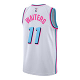Dion Waiters Nike Miami HEAT Vice Uniform City Edition Youth Swingman Jersey - 2