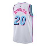 Justise Winslow Nike Miami HEAT Vice Uniform City Edition Youth Swingman Jersey - 2