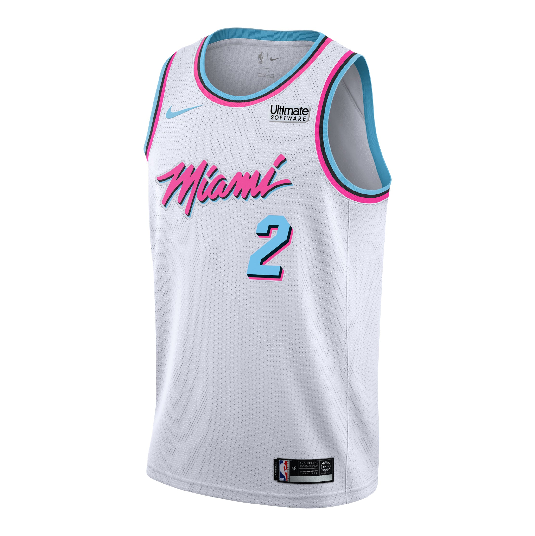 59834ba6629f Wayne Ellington Nike Miami HEAT Youth Vice Uniform City Edition Swingman  Jersey - featured image