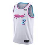 Wayne Ellington Nike Miami HEAT Vice Uniform City Edition Youth Swingman Jersey - 1