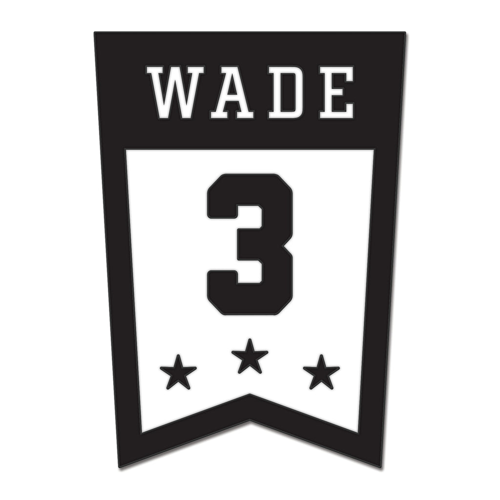 Court Culture Wade Banner Pin - featured image