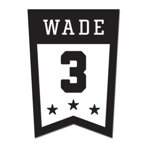 Court Culture Wade Banner Pin