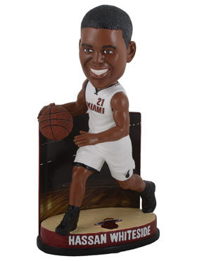 Forever Collectibles Miami HEAT Hassan Whiteside Legacy Bobblehead