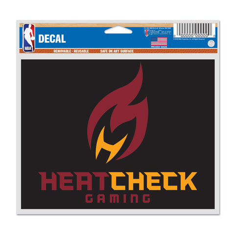 HEATCHECK Wincraft Decal