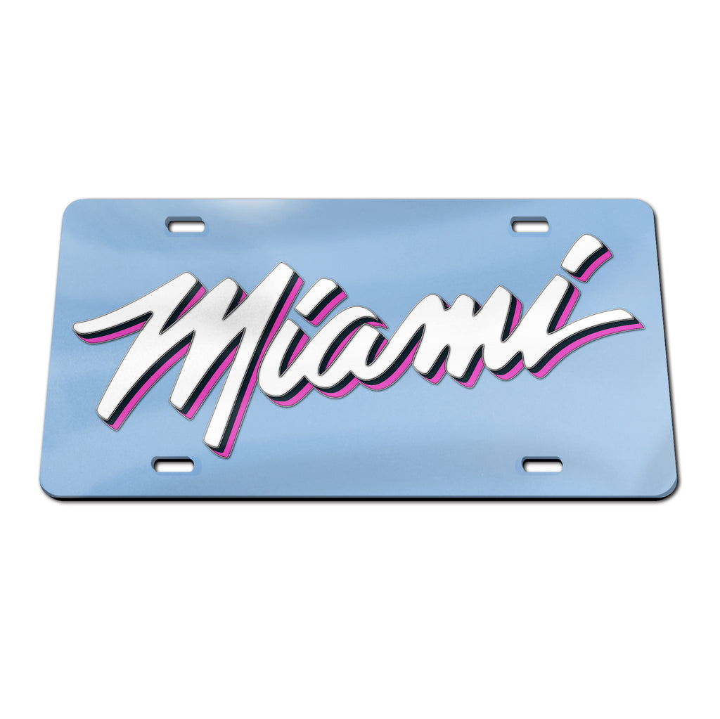 Wincraft ViceWave Miami Acrylic License Plate - featured image