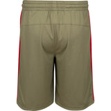 adidas Miami HEAT Youth Home Strong Swingman Shorts - 2