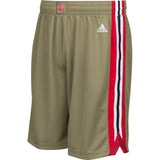 adidas Miami HEAT Youth Home Strong Swingman Shorts - 1