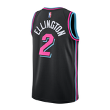 Wayne Ellington Nike Miami HEAT Vice Nights Swingman Jersey - 2