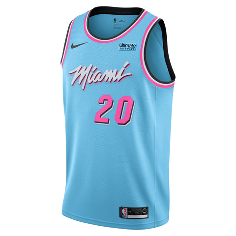 Justise Winslow Nike Miami HEAT ViceWave Swingman Jersey