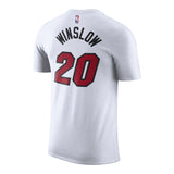 Justise Winslow Nike Youth White Name & Number Tee - 2