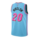 Justise Winslow Nike Miami HEAT ViceWave Youth Swingman Jersey - 2