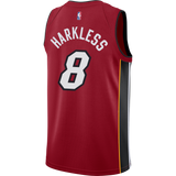 Moe Harkless Jordan Brand Statement Red Swingman Jersey - 2