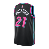 Hassan Whiteside Nike Miami HEAT Vice Nights Swingman Jersey - 2