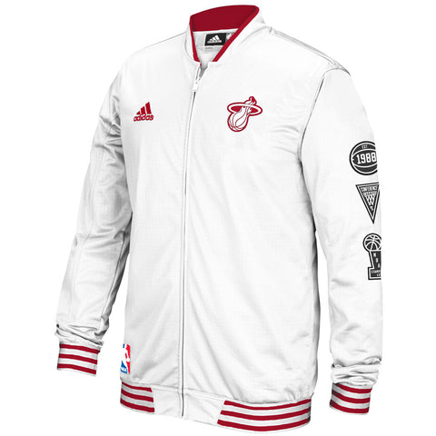 adidas Miami HEAT 2015/16 On Court Warm Up Jacket