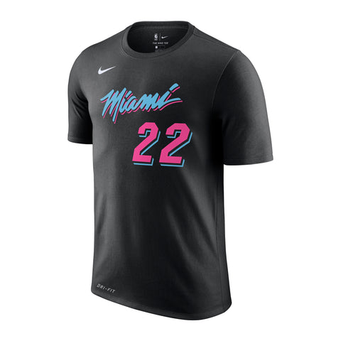 Jimmy Butler Nike Miami HEAT Vice Nights Name & Number Tee
