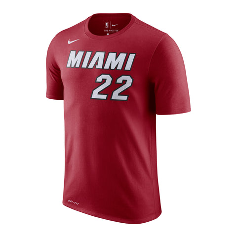 Jimmy Butler Nike Statement Red Name & Number Tee
