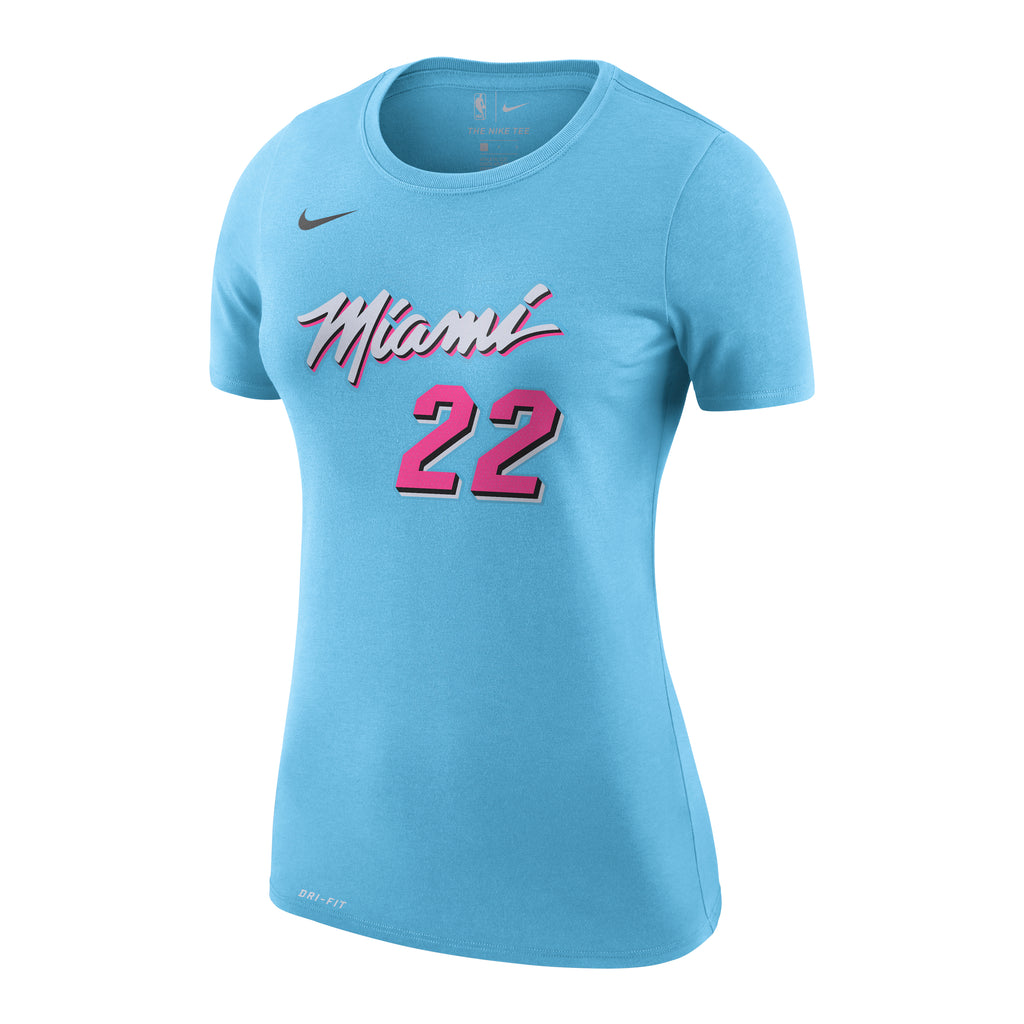 Jimmy Butler Nike Miami HEAT Ladies ViceWave Name & Number Tee - featured image