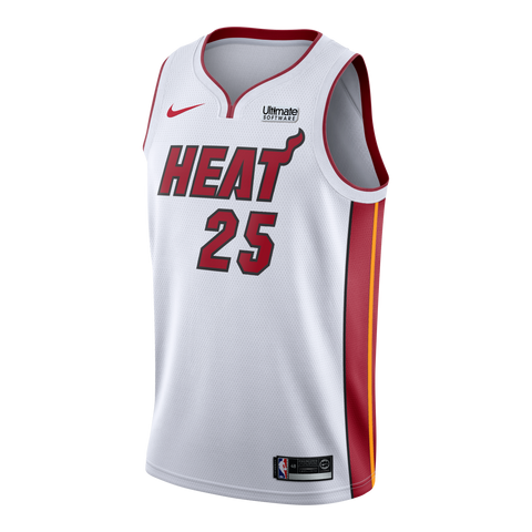 Kendrick Nunn Nike Miami HEAT Youth Association White Swingman Jersey